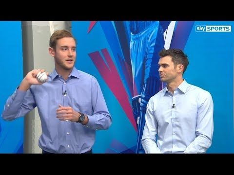 James Anderson and Stuart Broad Seam Bowling Masterclass - (More info on: https://1-W-W.COM/Bowling/james-anderson-and-stuart-broad-seam-bowling-masterclass/)