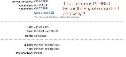 Lengyel befektetési cég #Paypal #kifizetési bizonylata....csatlakozzon Ön is és keressen pár száz Eurót az interneten !