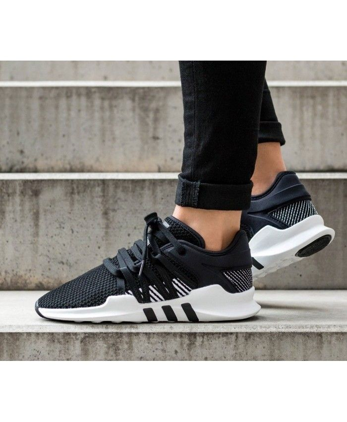 competitive price 19958 0a26e Adidas Equipment Racing ADV Black and White Fashion Trainers