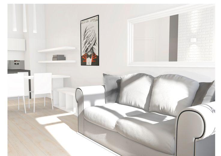 35m2 apartment / small space | Interior Design Ideas by Magda Piekarska