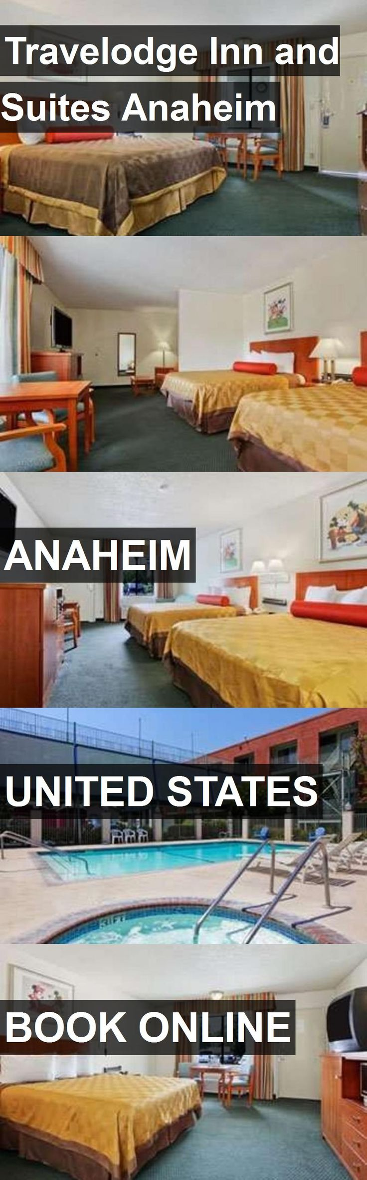 Hotel Travelodge Inn and Suites Anaheim in Anaheim, United States. For more information, photos, reviews and best prices please follow the link. #UnitedStates #Anaheim #hotel #travel #vacation