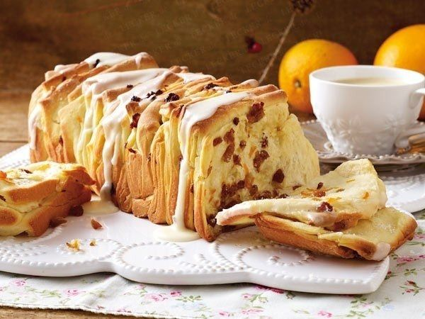 Фото к рецепту: Апельсиновый хлеб (Orangenbrot backen)