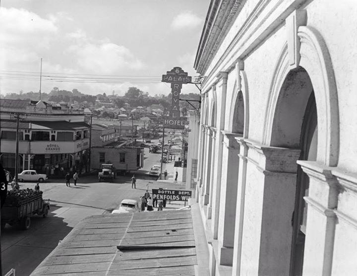 Brisbane street 1957