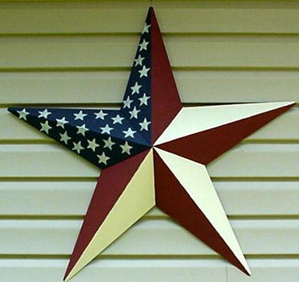 Red white and blue barn star American flag stars Flag