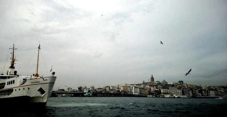 Eminönünden Karaköy
