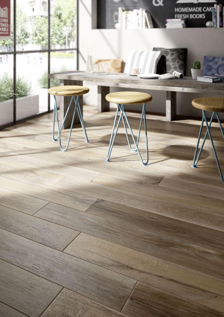 Gres porcelánico de efecto madera y parqué  - Marazzi 6964                                                                                                                                                                                 Más