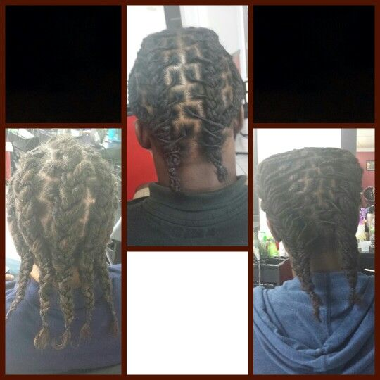 Pictures Of Dreads Braided To The Back Kidskunst Info