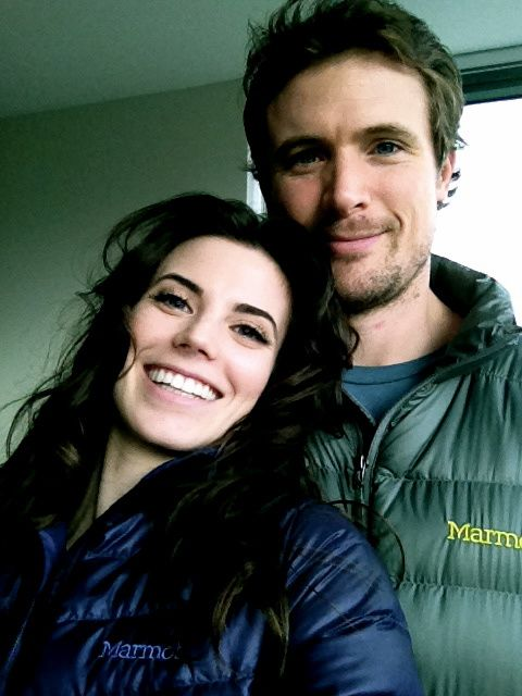 Meghan Ory [Riley O'Neil from the TV show Intelligence] and her husband John Reardon