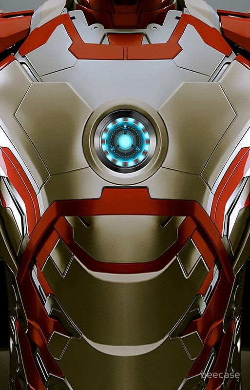 For matt.   iPhone case - Iron man Body Armor Mark 47 - Apple iPhone case by beecase