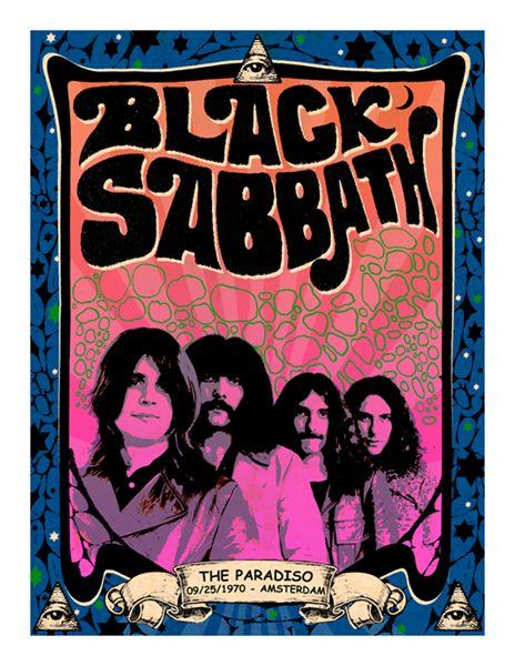 Afiches de bandas de rock & pop