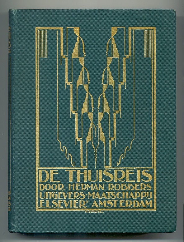 Book Cover Art Deco : Images about dutch art deco book design on pinterest