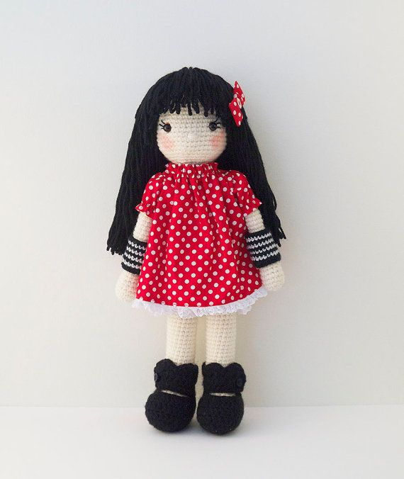 Hey, I found this really awesome Etsy listing at https://www.etsy.com/listing/229130291/amigurumi-crochet-doll-sweet-girl-doll