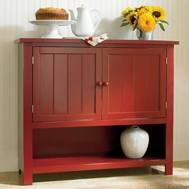 Or maybe one like this hartford kitchen buffet jcpenney for Bathroom cabinets jcpenney