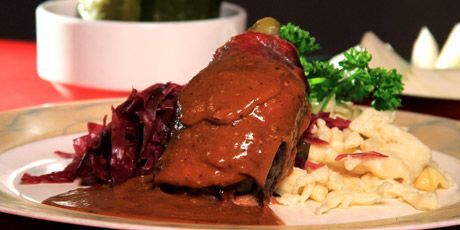 Rouladen - recipe from You Gotta Eat Here, Foodnetwork.ca   This recipe is from the Musket German Restaurant in Ontario