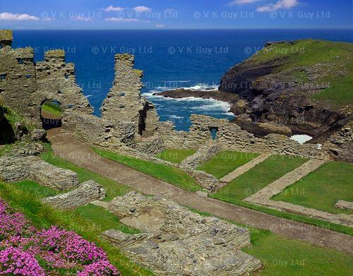 King Arthur's Castle ~ Cornwall England -