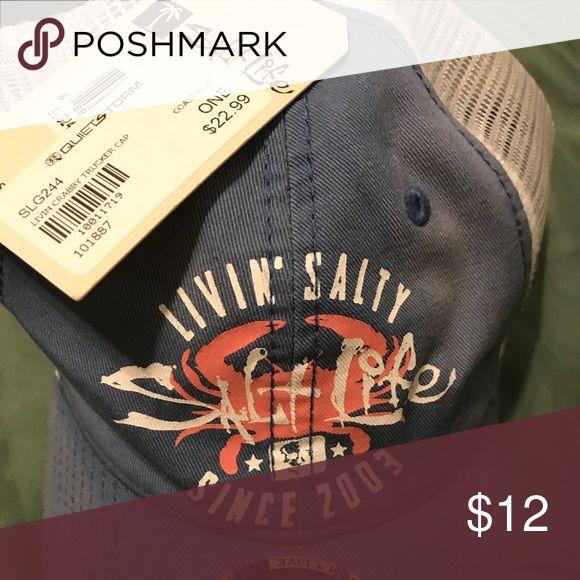 Salt Life hat NWT plastic SnapBack hat Other