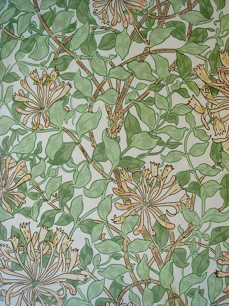 Wallpaper by William Morris