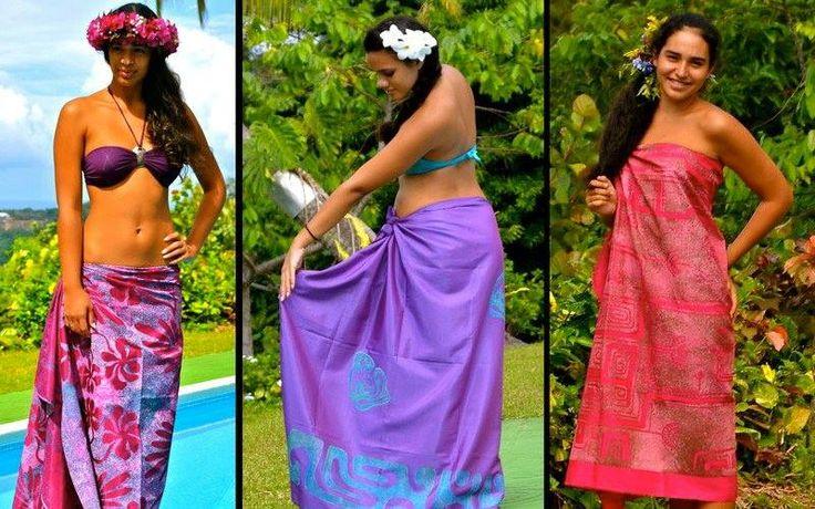 Pareo Tahiti Art - www.facebook.com/pages/Tahiti-Art-Maohi/
