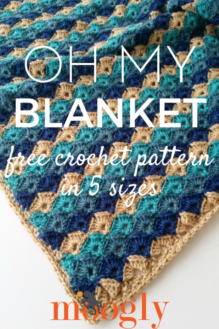 1052 best Crochet Afghans images on Pinterest | Crochet blankets ...