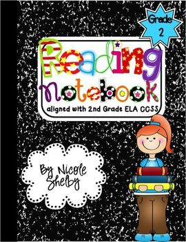 2nd Grade Reading Interactive Notebook (aligned with the CCSS  $
