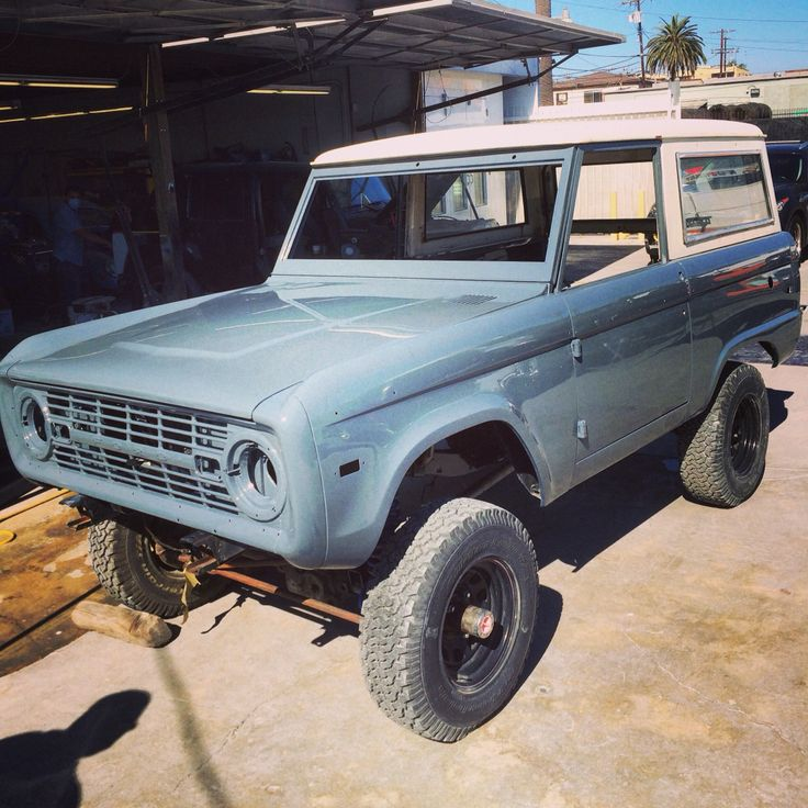 Ford Gulfport: Bronco Project