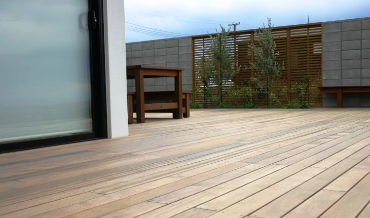Greenheart 140mm x 21mm Watershed Decking
