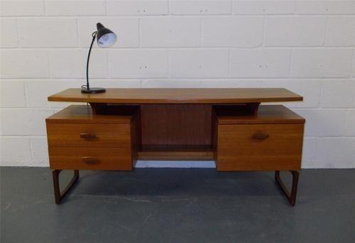 Vintage retro 1960s 70s teak G Plan Quadrille mid century desk / dressing table | eBay