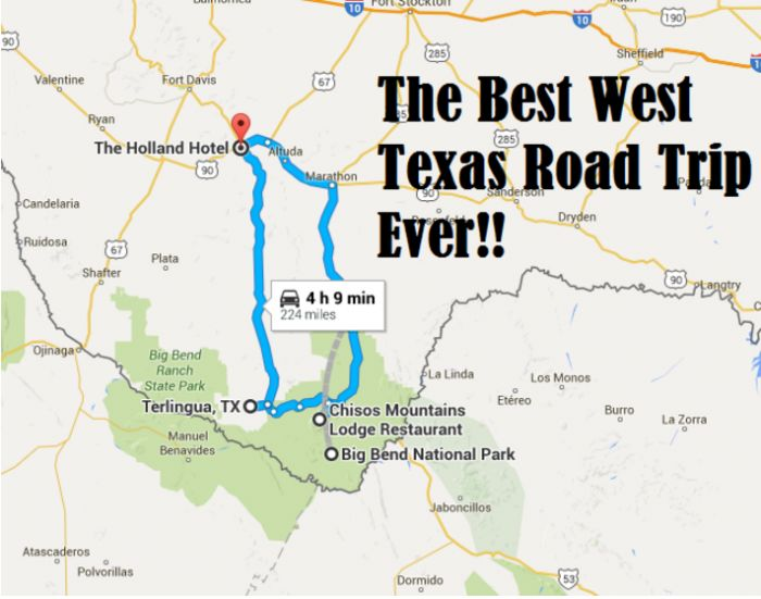 Texas road trips. From ghost towns to barbecue, there's a road trip for everyone on this list.
