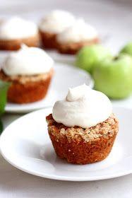Suklaapossu: Taivaalliset omenamuffinit murupäällisellä