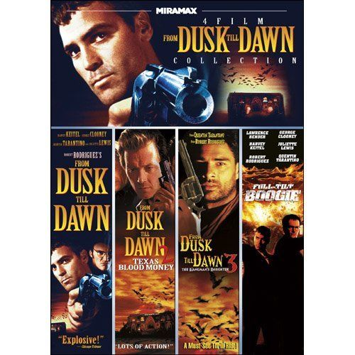 Miramax From Dusk Till Dawn Collection: From Dusk Till Dawn / Full-Tilt Boogie / From Dusk Till Dawn 2: Texas Blood Money / From Dusk Till Dawn 3: The Hangman's Daughter DVD ~ George Clooney, http://www.amazon.com