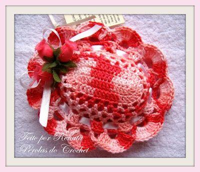 * Pérolas do Crochet: Sachê de crohet, porta-moedas e Túnica de crochet