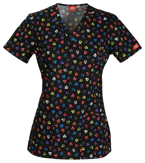 """""""Hello Little Lady"""" Dickies scrub top! 