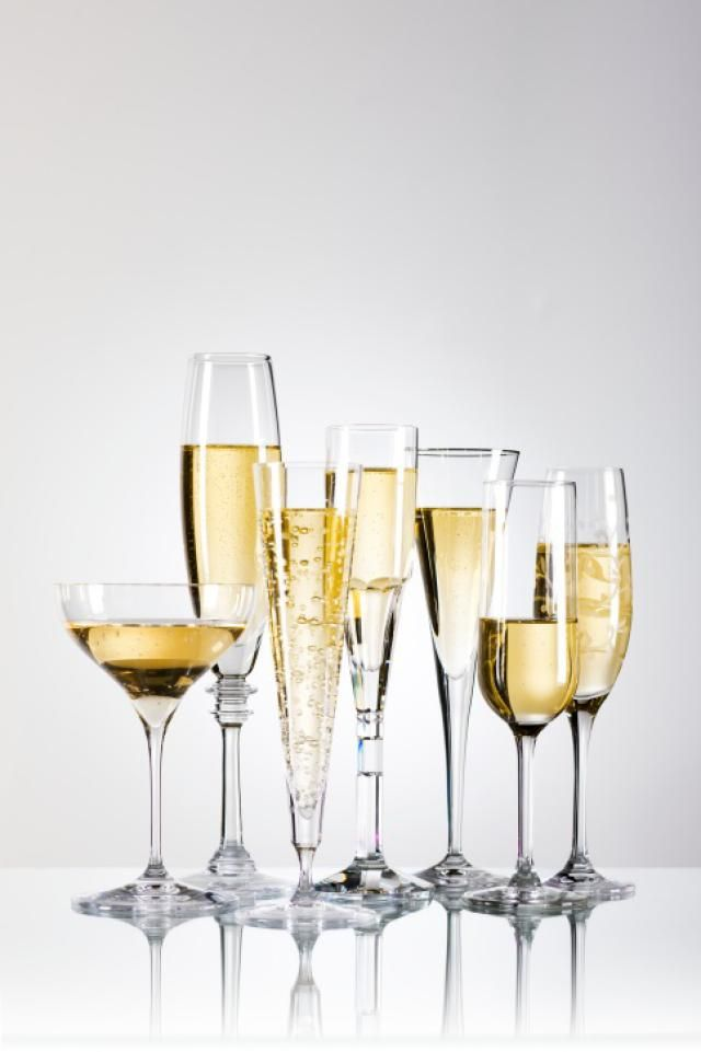 Ditching the Champagne Flute for a White Wine Glass?