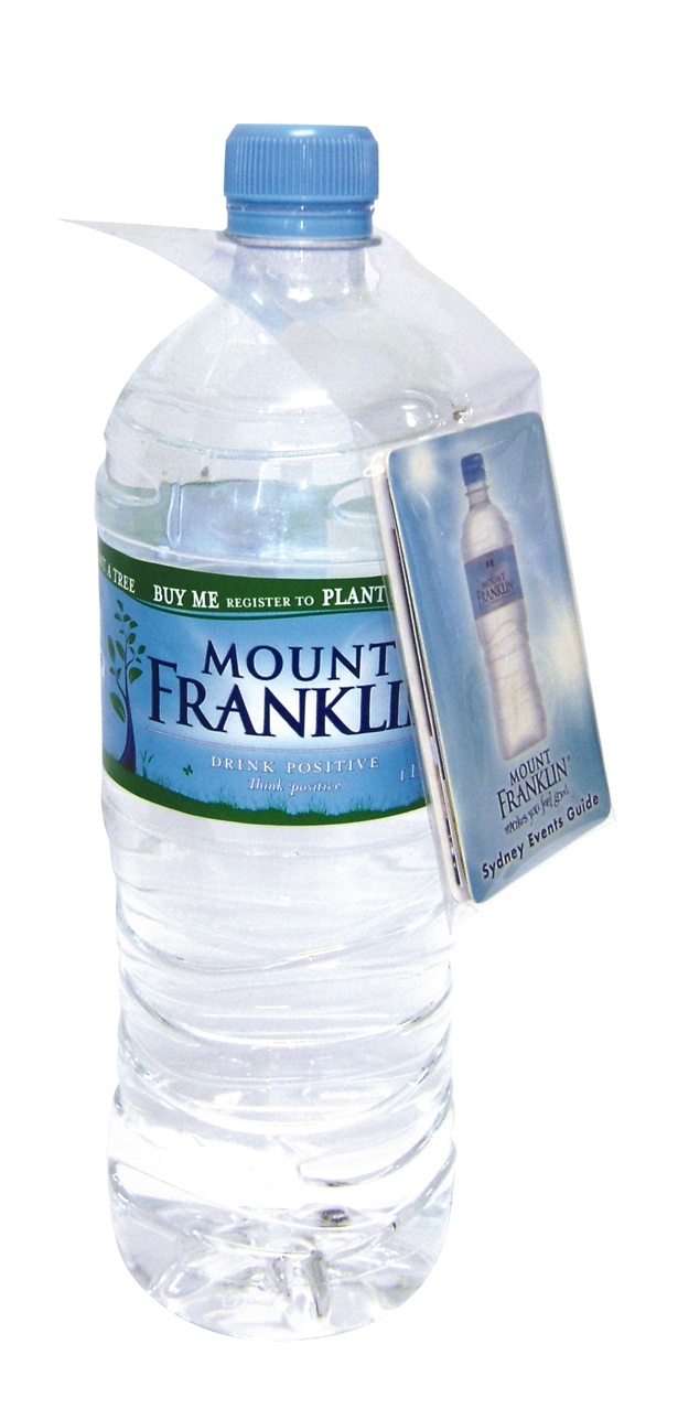 Mount Franklin Bottlehang Z-CARDs