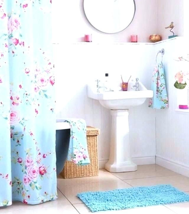 Pink Yellow Blue Bathroom Google Search With Images Fabric