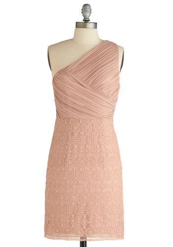 I love this color. :)Indie Clothing, Bridesmaid I, Bridesmaid Dresses, Bridesmaid Colors, Dinner Dresses, Blushes Dresses, Blush Bridesmaids, Modcloth Com, Modcloth Dresses