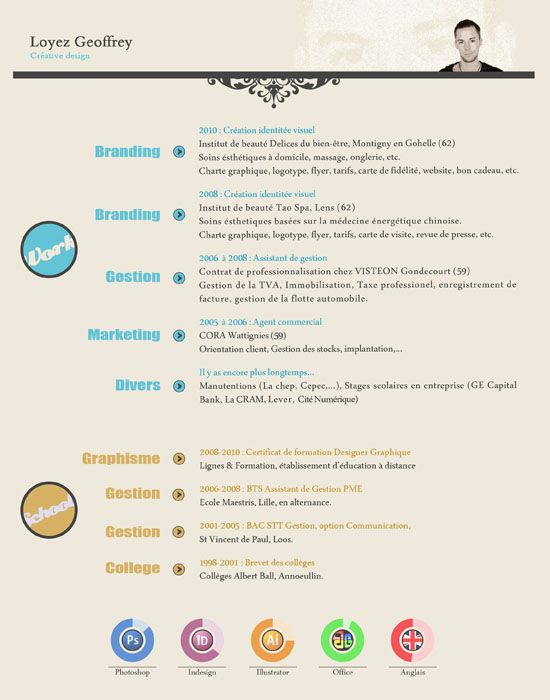 17 amazing exles of cv resume design creativity