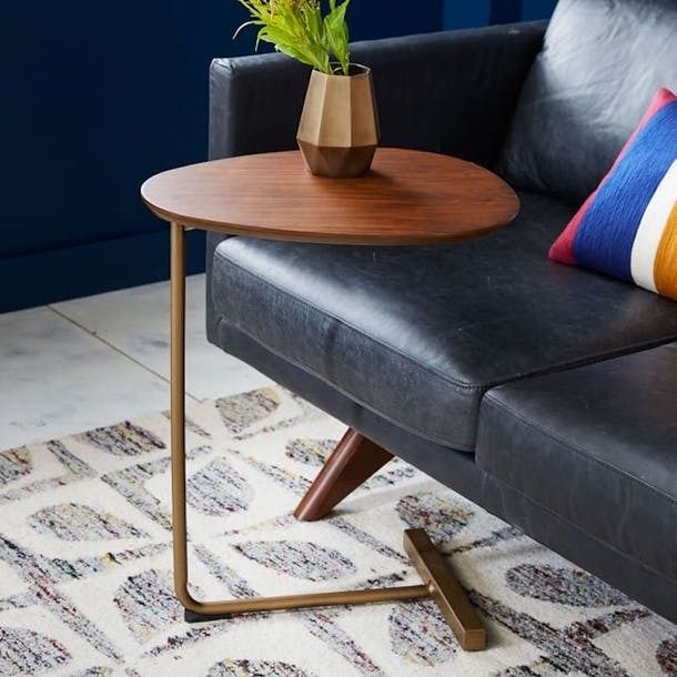 This table is perfect for any small space. It's tiny, easy to move, serves a multitude of functions, and can be used in almost any room. 10 of the Most Beautiful C Tables | Apartment Therapy