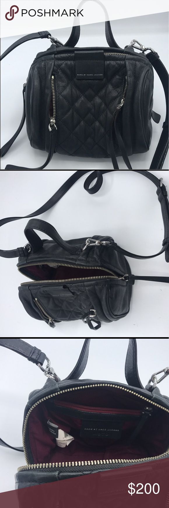 Marc by marc jacobs black purse In a real good condition marc jacobs black purse Marc By Marc Jacobs Bags Crossbody Bags