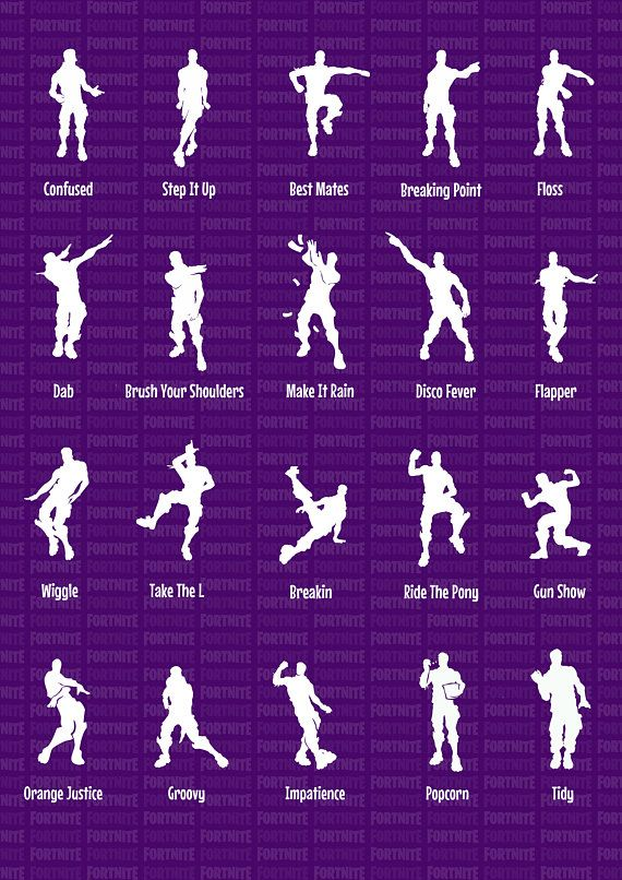 Fortnite Battle Royale Funny Emotes Dances Dancing