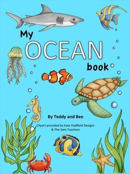 My Ocean Book is the perfect resource for when you're teaching about oceans and ocean life. This packet includes a student booklet that has 9 pages of fun ocean themed activities. It also includes some material that will aid you teach the lesson.   This product includes:  - 9 page student booklet (ocean theme) - Oceans Map  - 5 ocean description cards  - 1 Ocean vs Sea description card - New Vocabulary cards (Mammal, Fish, Invertebrate & Reptile)  - Educational text about plastic ...