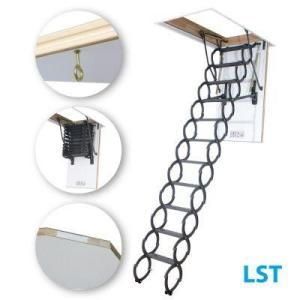 Insulated Steel Scissor Attic Ladder With 350 Lb. Load Capacity Not Rated