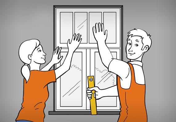 Ber ideen zu fenster einbauen auf pinterest for Kellerfenster obi
