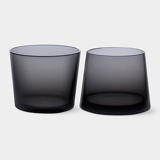 Black Whiskey Glass Set | MoMAstore.org