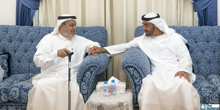 Sheikh Mohammed bin Zayed visits former teacher at home – in pictures
