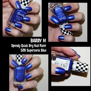 MichelaIsMyName: NOTD // BARRY M Speedy Quick Dry Nail Paint 528 Su...