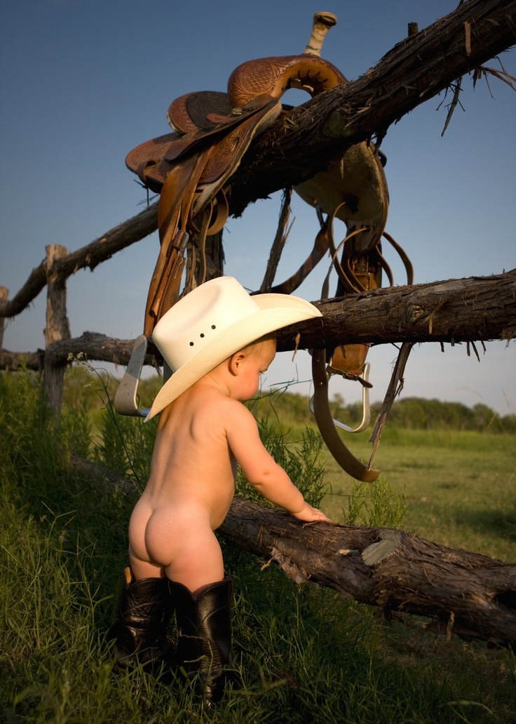 baby cowboy-this is adorable---there is something about baby butts :) so cute