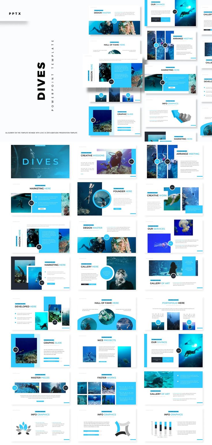 Dives - Powerpoint Presentation Template
