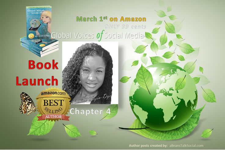 Global Voices of Social Media ™ in Chapter 4, 'Out of the Comfort Zone and into Success' by Carline Bejin-Dye has a story that will move you.  #Celebrate #WomensInternationalMonth by going to Amazon for our 99 cent digital book version through out the Month of March.