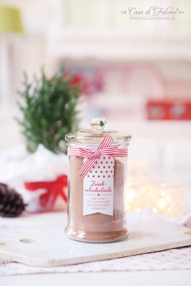Trinkschokoladenpulver Kakaopulver Rezept I Casa di Falcone